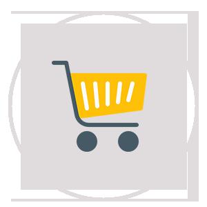 ecommerce cart icon
